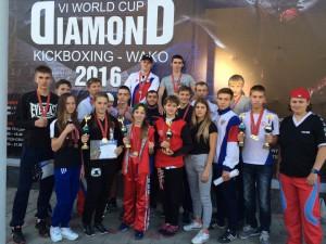 Традиционный Международный турнир в п. Витязево «World CUP DIAMOND»