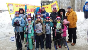 Традиционный массовый забег «Лыжня России» 2017