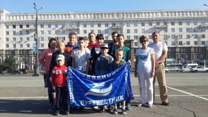 «Зарядка со звездой» в Челябинске 10 августа 2017 года.