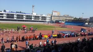 Спортивный праздник посвященный Дню города Челябинска