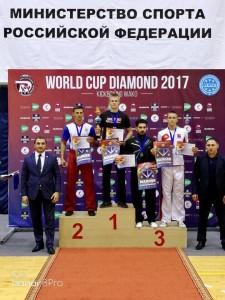 С 19 по 24 сентября 2017 года в Анапе проходил Кубок мира по кикбоксингу Всемирной ассоциации организаций кикбоксинга (WAKO) — «World Сup Diamond — 2017».