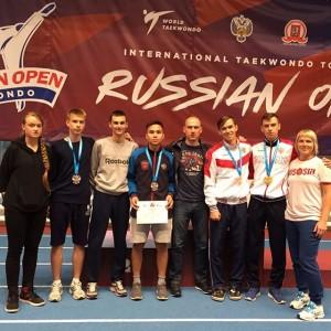 Успех на международном турнире «Russia Open» г.Москва.
