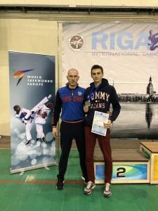 2 серебра на рейтинговом турнире «Riga Open»