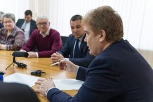 Встреча с  ВРИО главы города Челябинска в Администрации Советского района.