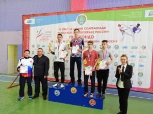 Поздравляем Ярина Анатолия с победой на II этапе летней Спартакиады учащихся по тхэквондо.