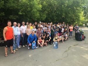 Проводили спортсменов СШОР «Буревестник» на подготовительные сборы по ОФП.