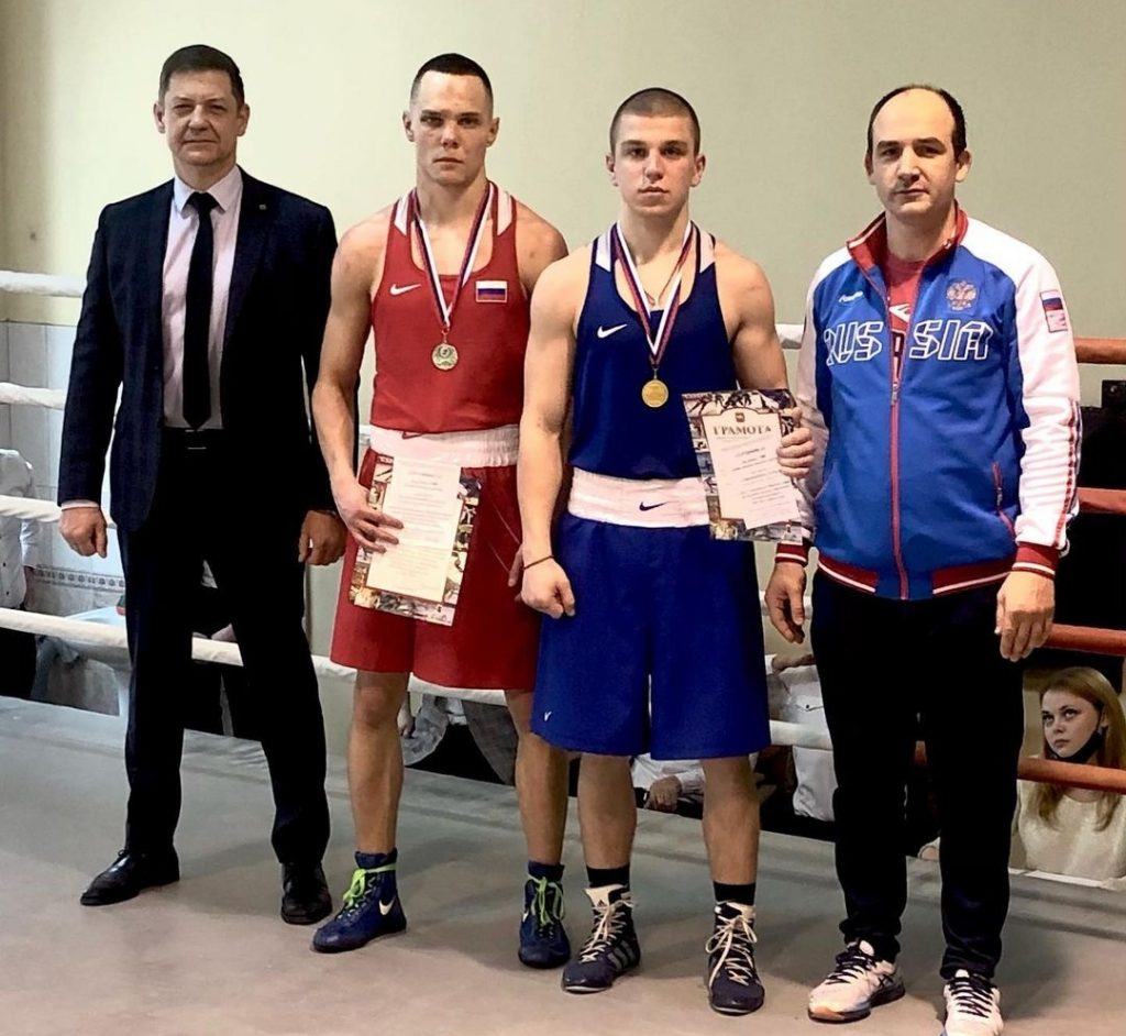 Чемпионат среди ВУЗов по боксу.